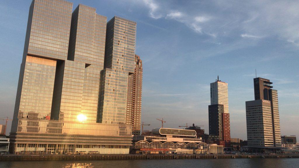 Kop van Zuid a Rotterdam