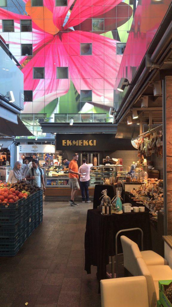 marktal a Rotterdam